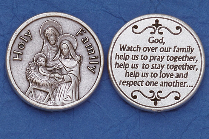 Holy Family Pocket Token